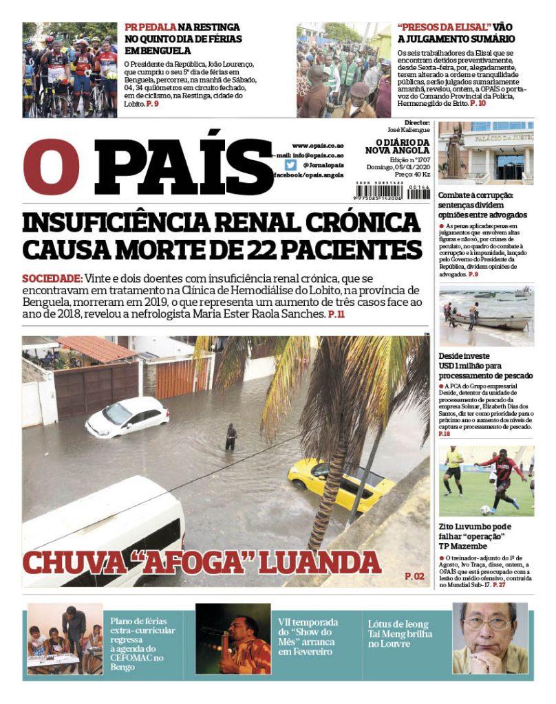 O editorial:Chuvas, Luanda e nada de novo
