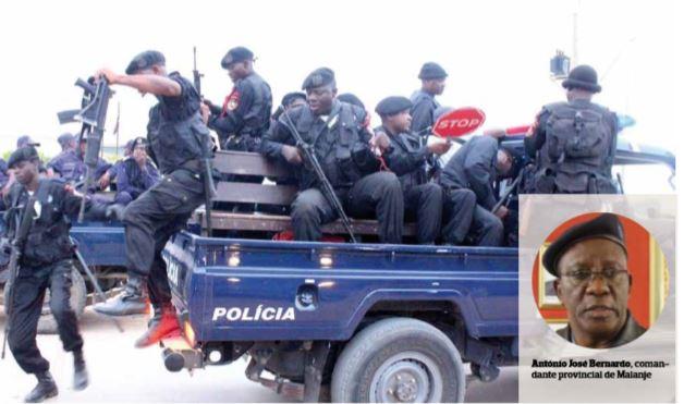 Comandante da Polícia Nacional em Malanje mostra desempenho dos efectivos durante a quadra festiva