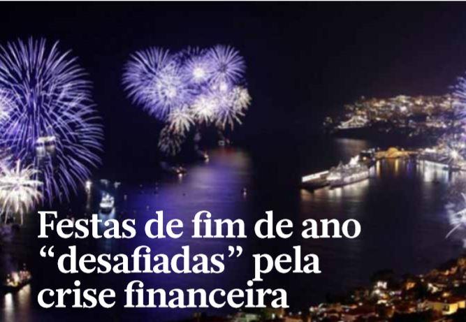 """Festas de fim de ano """"desafiadas"""" pela crise financeira"""