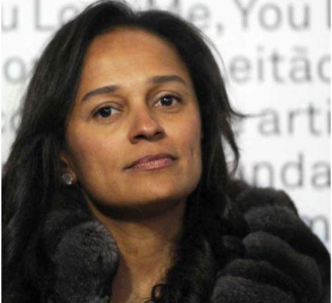 PGR anuncia que Isabel dos Santos foi constituida arguida
