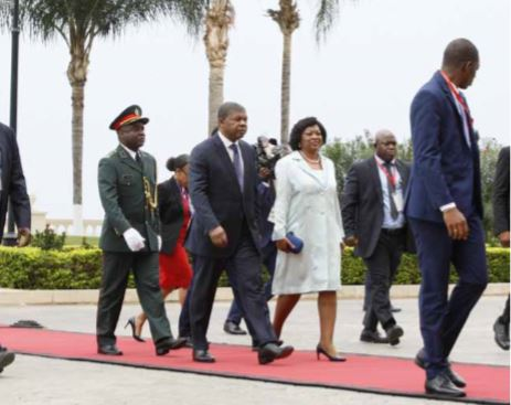 Casal presidencial escolhe Benguela para passagem de ano