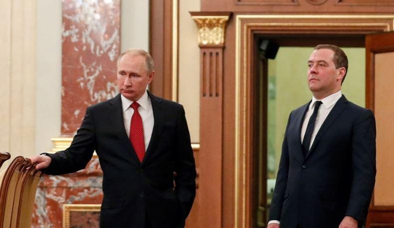 Primeiro-ministro da Rússia demite-se