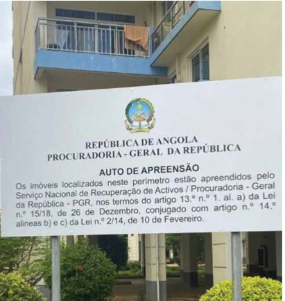 """PGR apreende mais de mil imóveis """"construídos com fundos públicos"""""""
