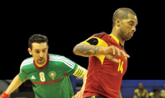 Selecção de futsal luta pelo bronze no Africano