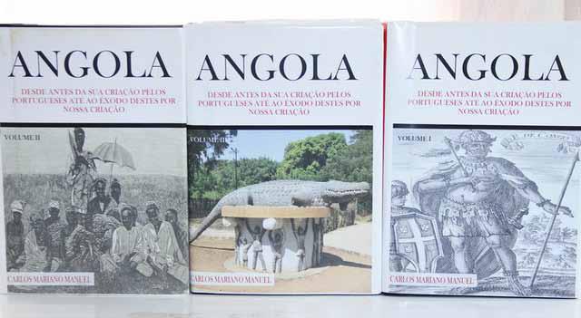 Novo livro sobre história de Angola a caminho das bancas