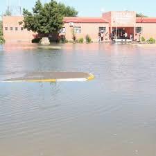 Escolas inundadas no Cunene