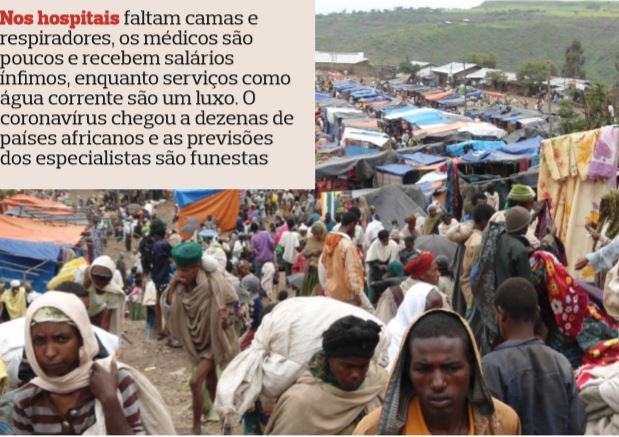 Na África subsahariana faltam água, material e médicos para enfrentar a pandemia