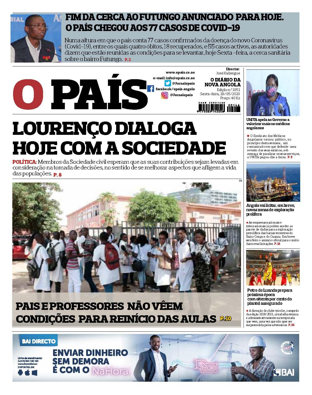 Editorial: Angolanos apenas