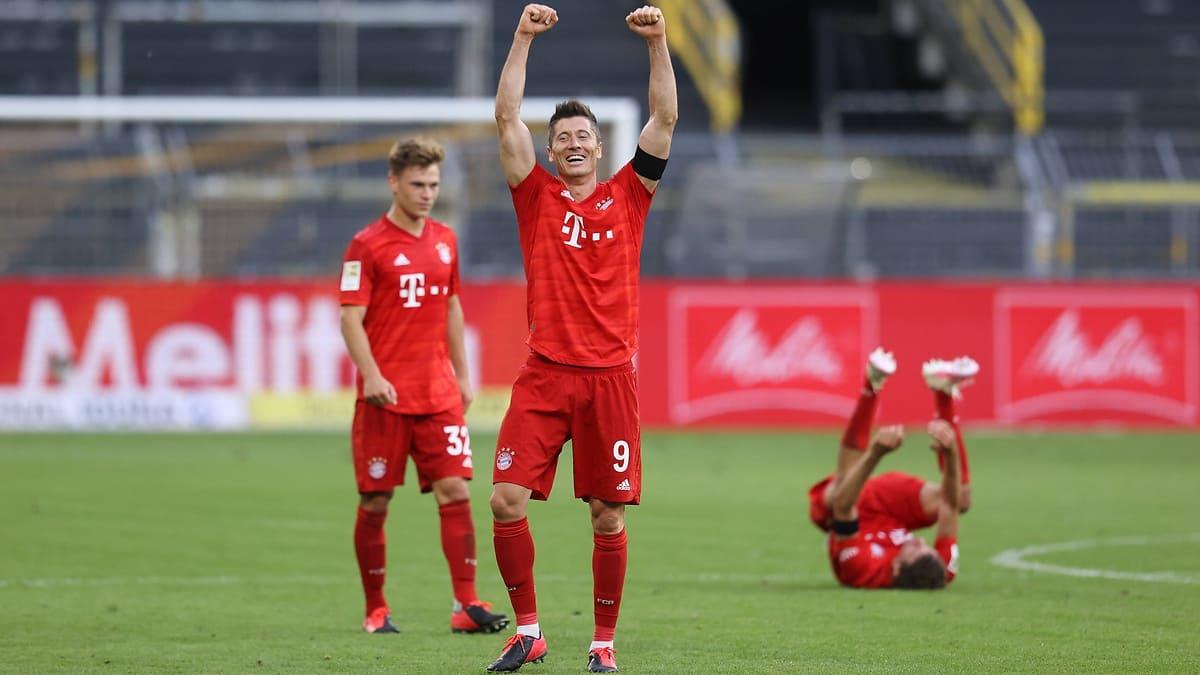 """Bayern segue implacável rumo ao """"octa"""""""