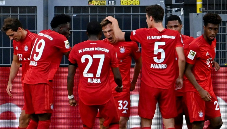 Bayern vence Borussia e fica mais perto do título da Bundesliga