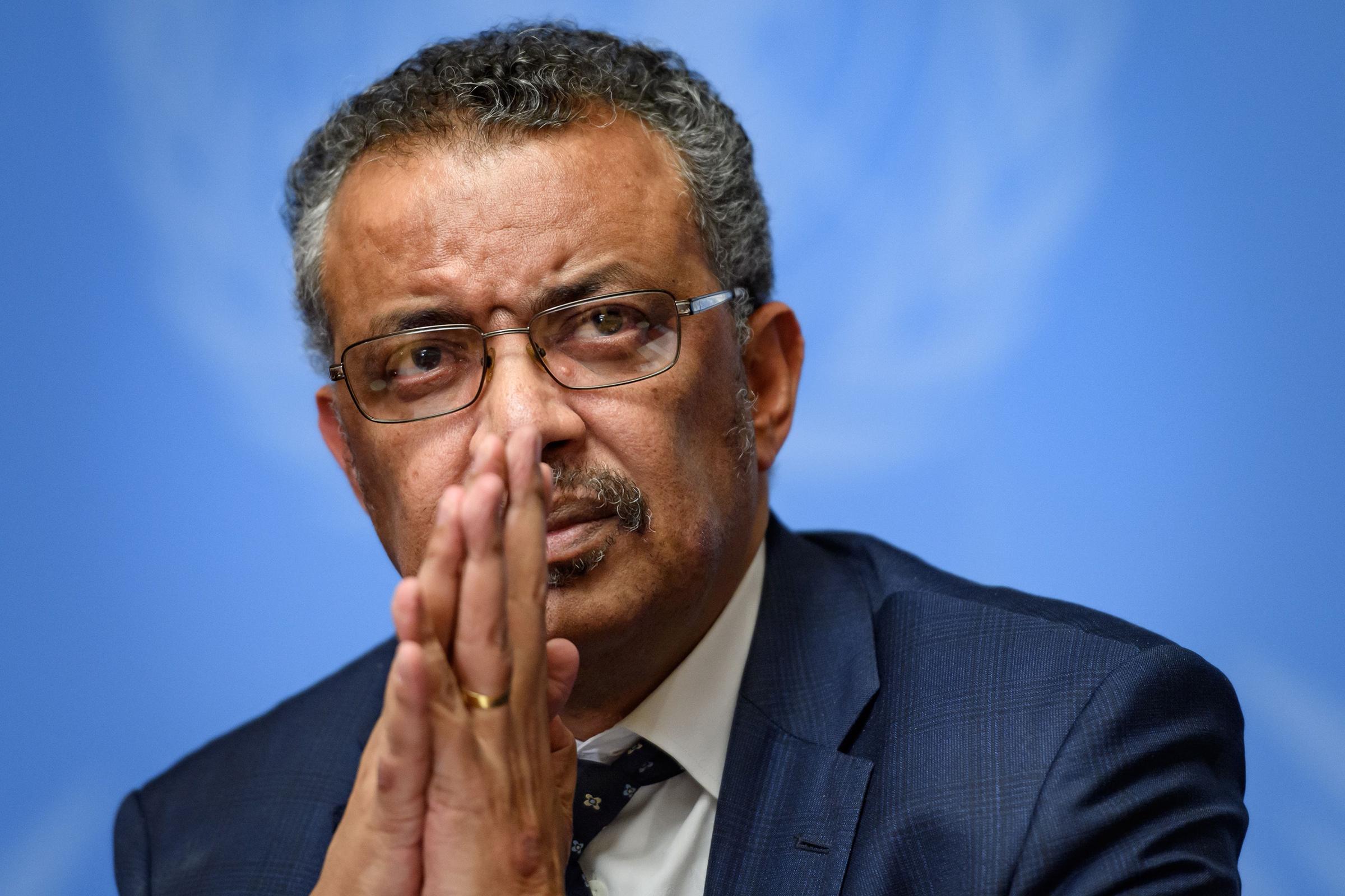 Director-geral da OMS cancela participação em evento britânico após EUA confirmarem saída da organização