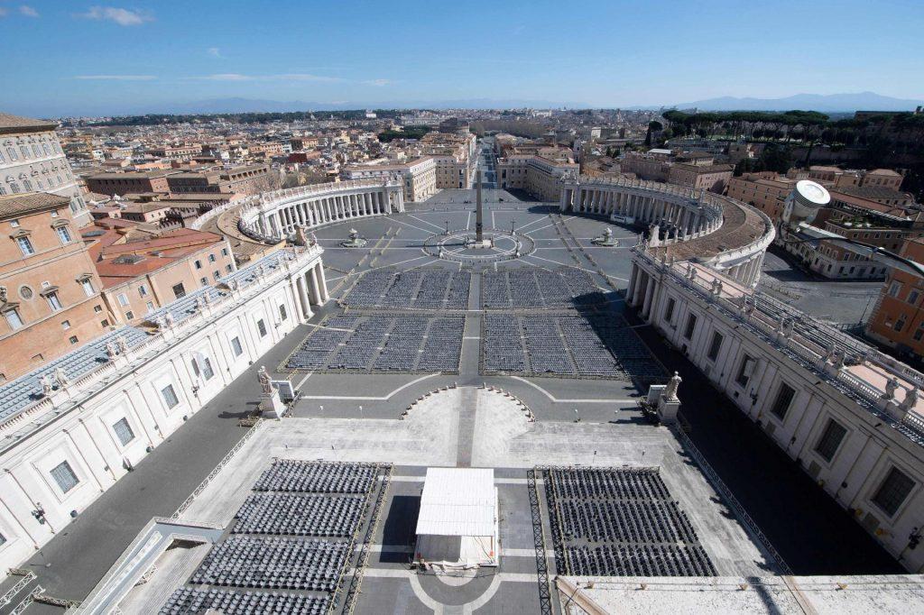 Coronavírus esgota cofres do Vaticano coma queda nas receitas