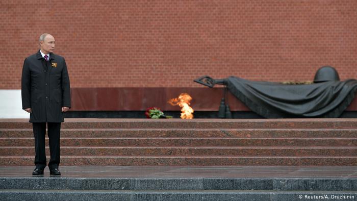 Putin preside acto do Dia da Vitória em meio a crescente pandemia de Covid-19