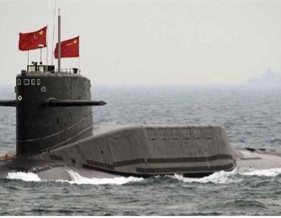Marinha chinesa teria reforçado frota naval com seis submarinos nucleares