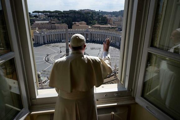 "Papa Francisco diz que Itália ""superou"" a pandemia"