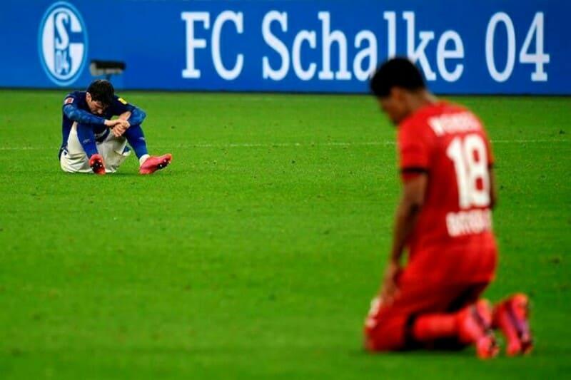 Schalke empata com Leverkusen e bate recorde de jogos sem vencer