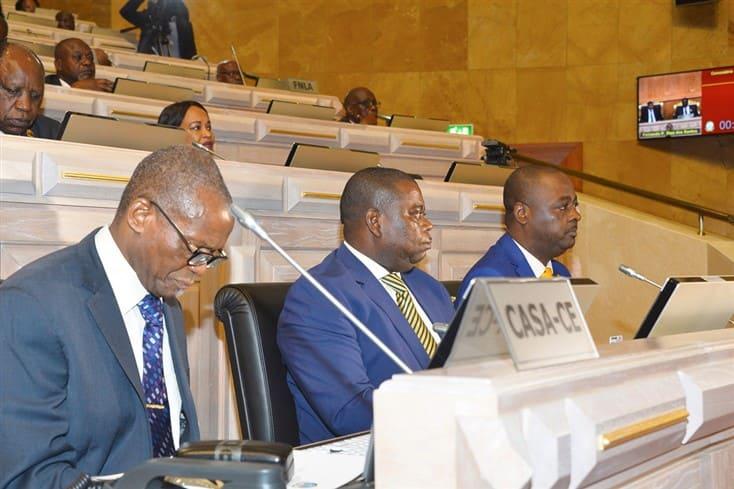 Falta de consenso força diminuição do tempo de intervenção da CASACE na Assembleia Nacional
