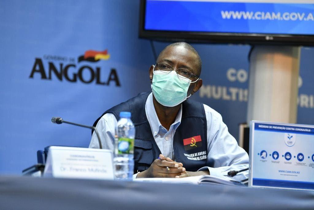 Oito positivos, um morto e 19 recuperados num só dia, record da Covid-19 em Angola