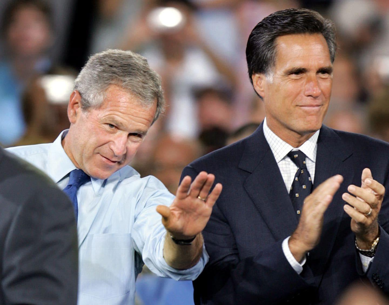 George W. Bush e Mitt Romney não vão apoiar Trump