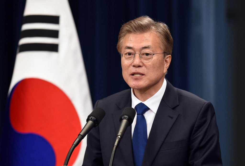 Líder sul-coreano faz apelo à Coreia do Norte para manter acordos de paz e retomar diálogo