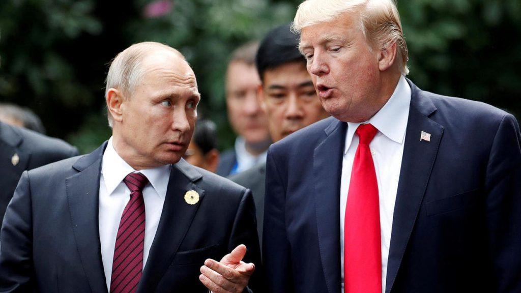 Convidar Putin para a cimeira do G7 é de 'senso comum', afirma Trump