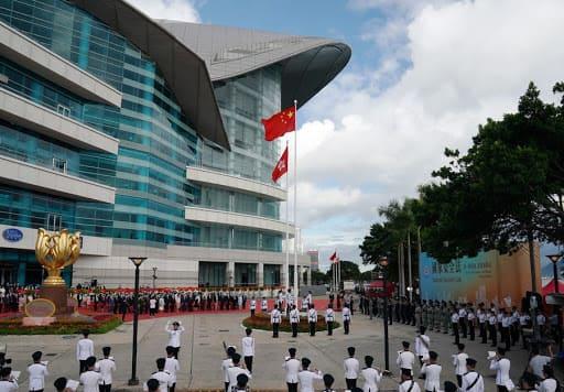 Hong Kong celebra 23º aniversário do retorno à pátria