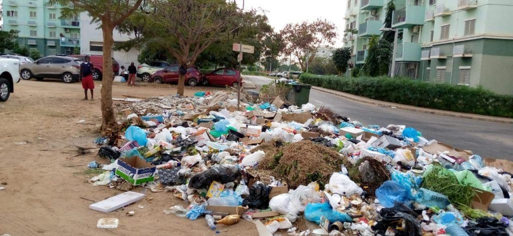 Administração do Kilamba esclarece amontoado de lixo