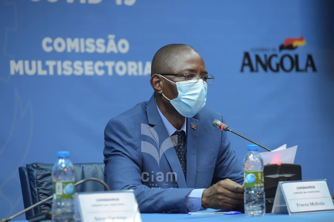 Angola regista mais 104 casos de covid-19