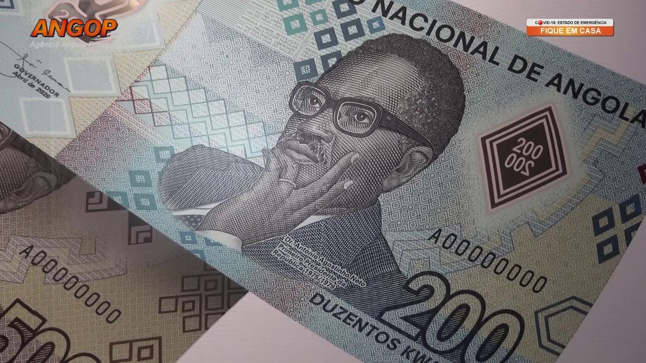 BNA coloca em circulação AKz 20 milhões das notas de 200 Kwanzas