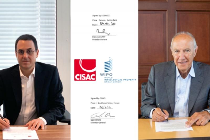 OMPI e CISAC assinam contrato de gestão de dados e reportório para apoiar entidades de gestão colectivas