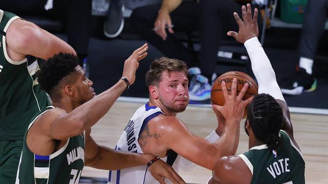 Suns pressionam Blazers, Doncic vence duelo com Giannis