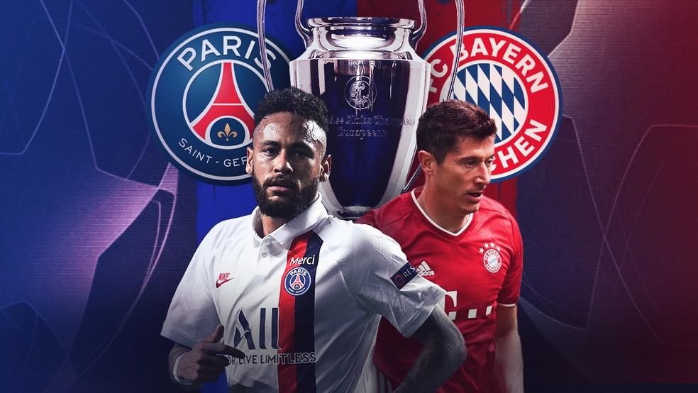 PSG e Bayern decidem hoje o título da Liga dos Campeões