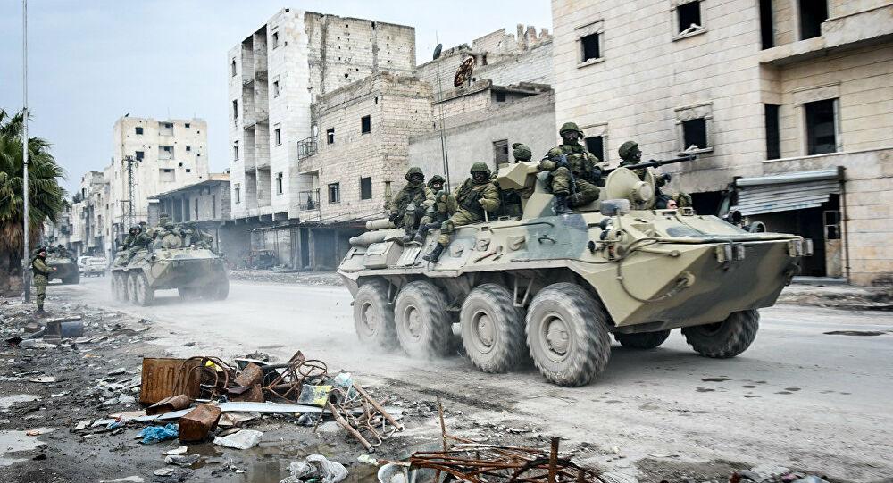 Defesa russa responsabiliza EUA por incidente com blindados russo e americano na Síria