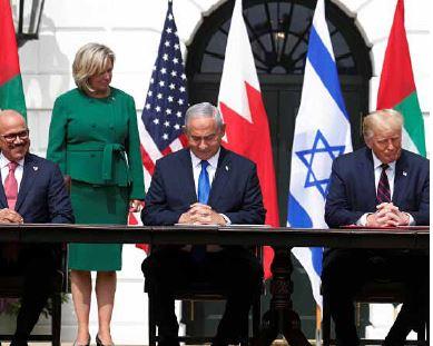Israel, Bahrein e emirados Árabes Unidos assinam acordo de paz nos EUA