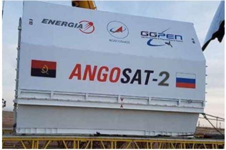 Angosat-2 será lançado em Março de 2022