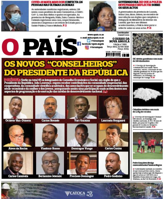 Editorial: Sempre a Sonangol