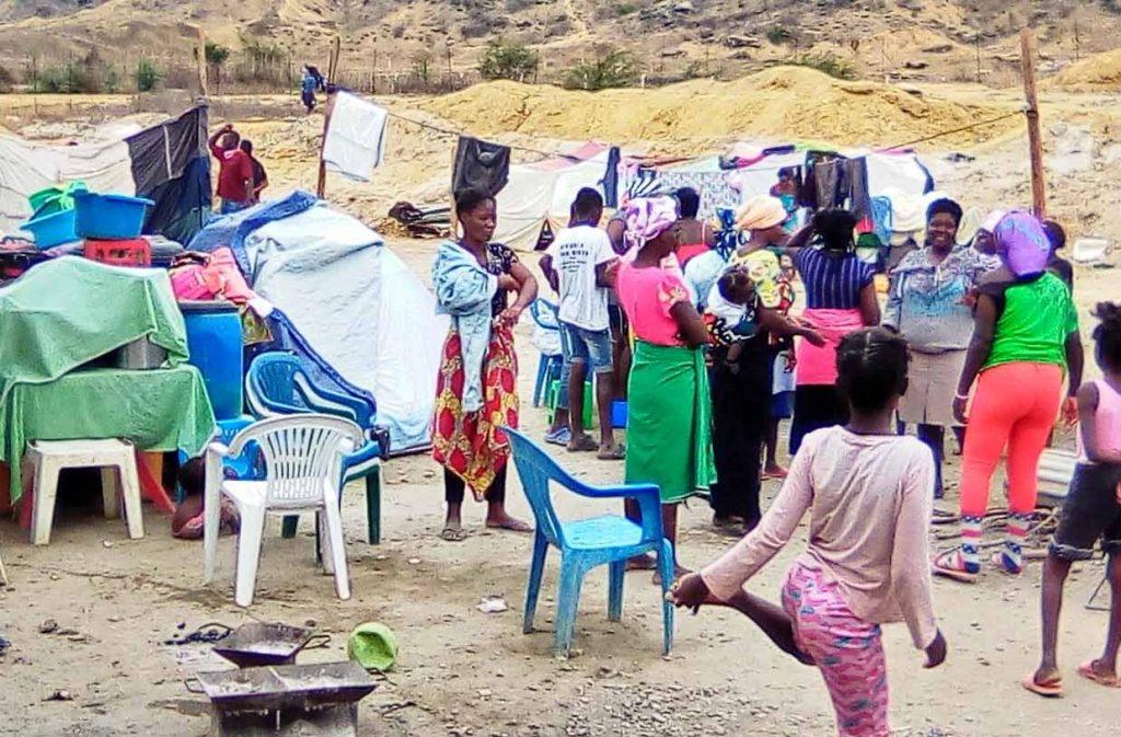 Bispo considera desumanas as condições de habitabilidade dos alojados nas Salinas pelo Governo