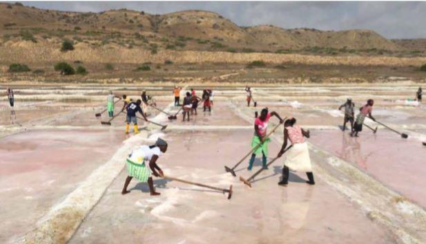 Nzeto retoma produção do sal