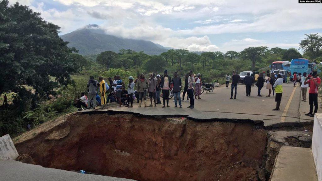 Interrompida circulação entre Benguela e Huíla