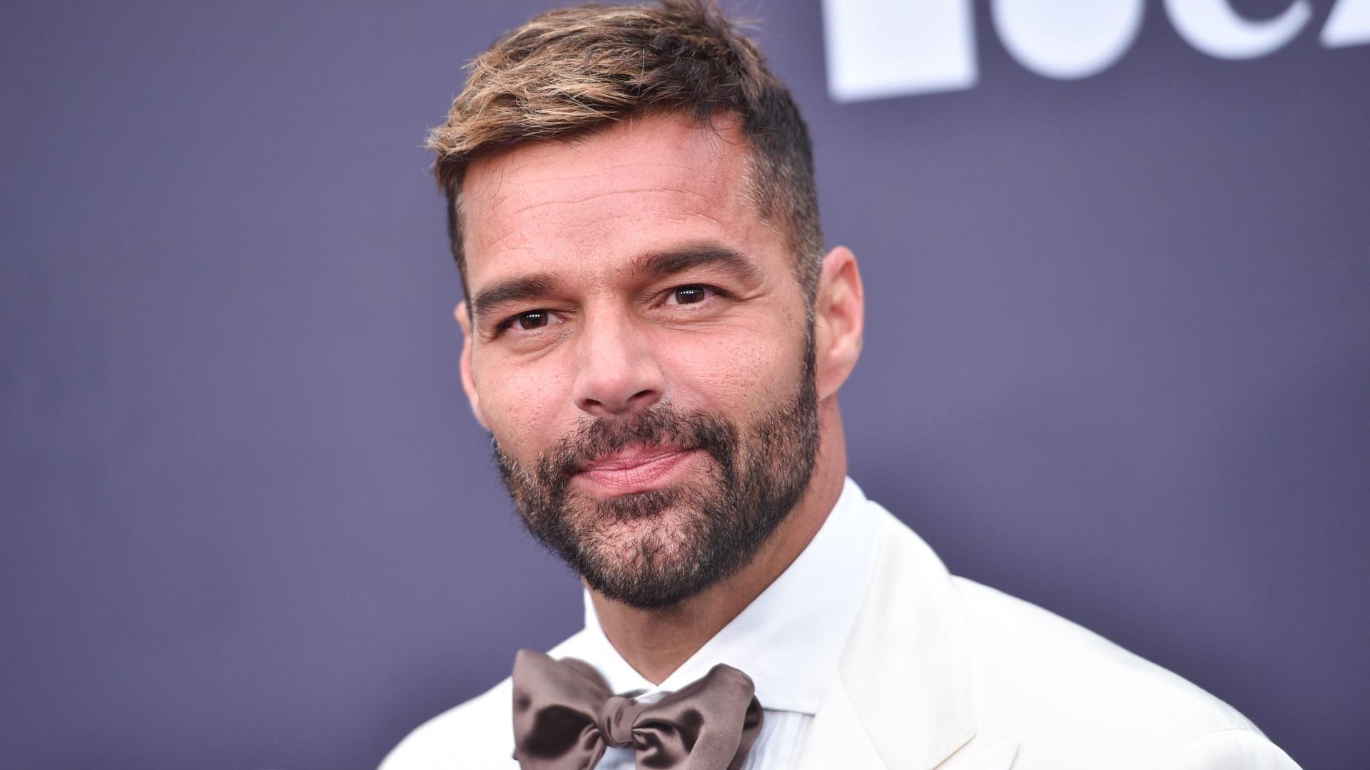 Ricky Martin faz teste à Covid-19 antes dos Latin Grammy Awards