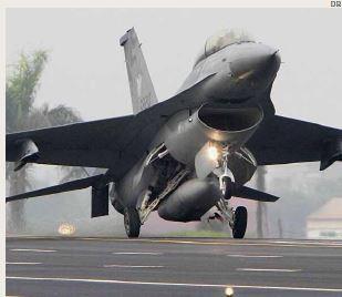 Força Aérea de Taiwan suspende todos os vôos de F-16 após sumiço de caça