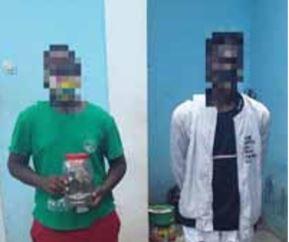 Dois estudantes do Instituto de Petróleos apanhados a vender liamba