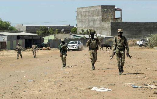 A Etiópia enfrenta o 'inferno' na batalha por Tigray, dizem os rebeldes