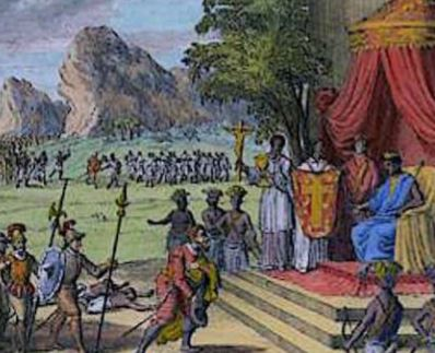 A transformação da língua. mindele, não significava brancos em kikongo