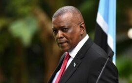 Presidência do Botswana encerrada por 48 horas devido à Covid-19
