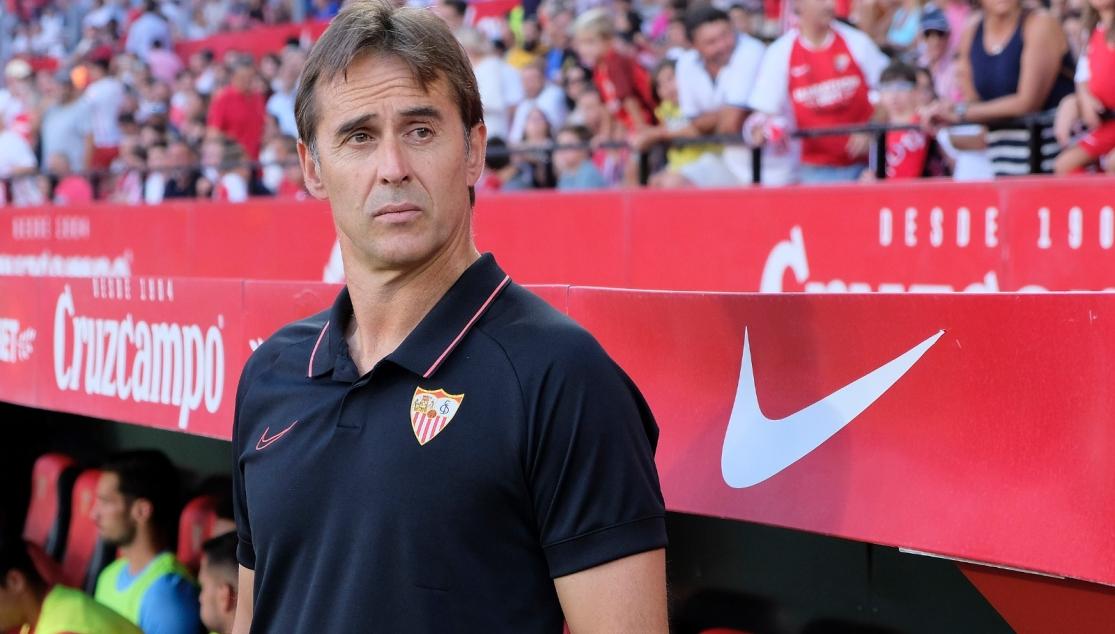 Julen Lopetegui renova contrato com o Sevilha de Espanha