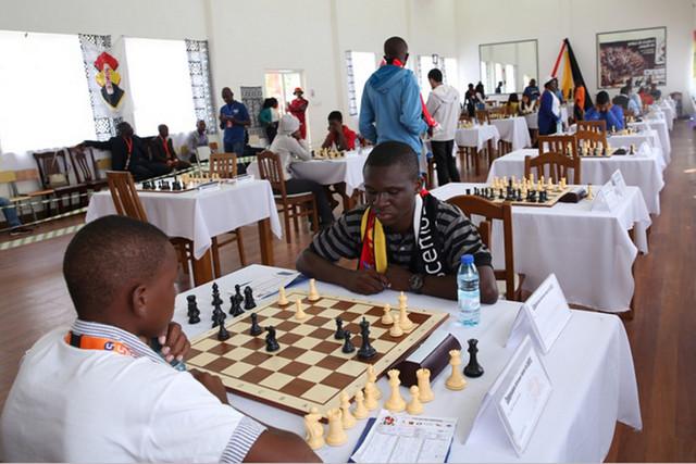 Selecção de xadrez prepara Africano