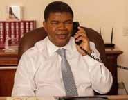 PR conversa ao telefone com SG da ONU sobre os Grandes Lagos