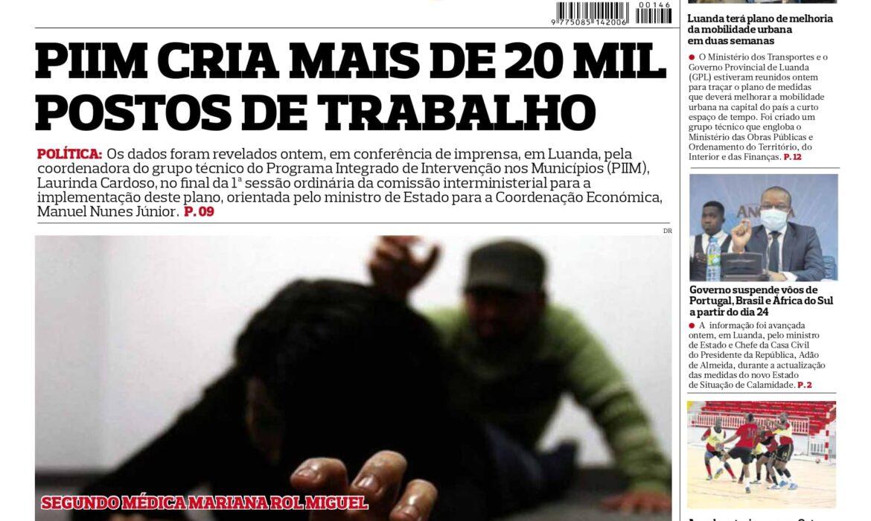 Editorial: Cautelas com África do Sul, Brasil e Portugal