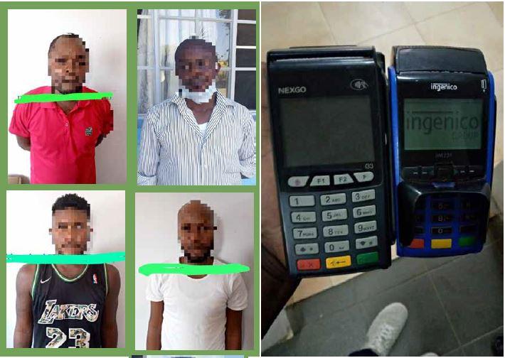 Rede de assaltantes de cartões multicaixa desmantelada em Luanda